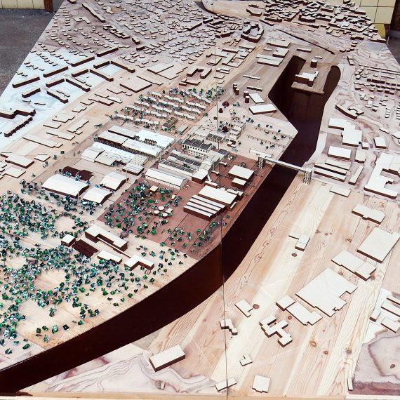 Arkitekturmodel af genbrugstræ